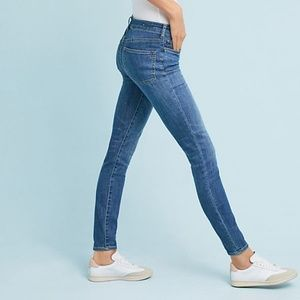 PIlcro High Rise Ankle Denim Leggings Jeans 26